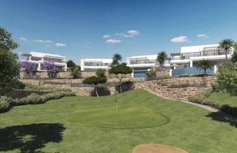 Mirador de Cabopino: eerstelijns golf villa's met zee en golfzicht in Cabopino
