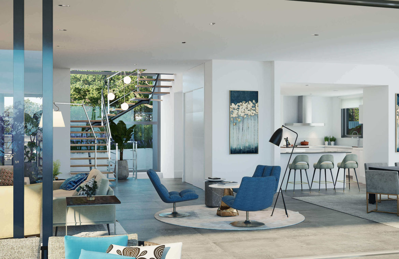 mirador de cabopino villa te koop costa del sol spanje golf zeezicht modern nieuwbouw living