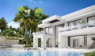 new heights nieuwbouw eerstelijns golf villa kopen new golden mile selwo estepona la resina costa del sol spanje