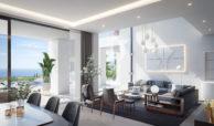 new heights nieuwbouw eerstelijns golf villa kopen new golden mile selwo estepona la resina costa del sol spanje living