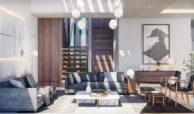new heights nieuwbouw eerstelijns golf villa kopen new golden mile selwo estepona la resina costa del sol spanje salon