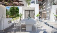 new heights nieuwbouw eerstelijns golf villa kopen new golden mile selwo estepona la resina costa del sol spanje terras