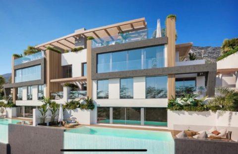 Ocean 360: luxe design villa's met panoramisch zeezicht in Benahavis