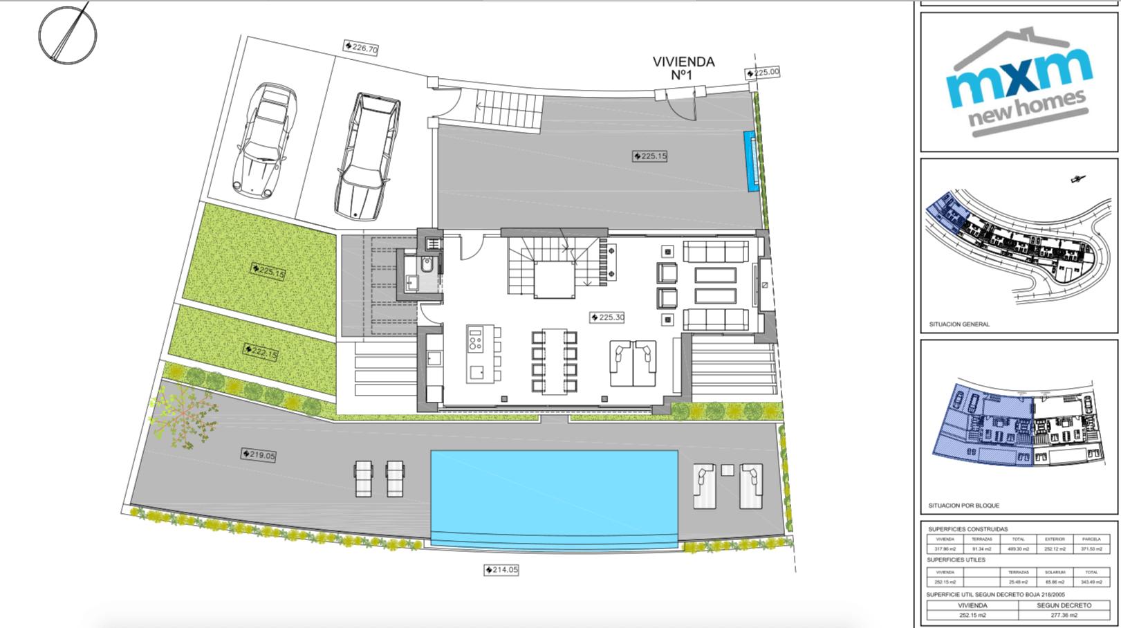 ocean 360 villa te koop costa del sol spanje benahavis marbella zeezicht luxe modern grondplan