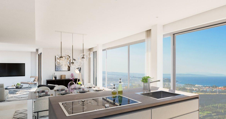 ocean 360 villa te koop costa del sol spanje benahavis marbella zeezicht luxe modern keuken