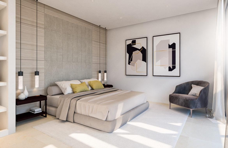 ocean 360 villa te koop costa del sol spanje benahavis marbella zeezicht luxe modern slaapkamer