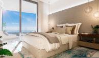 quercus real de la quinta nueva andalucia costa del sol spanje resort golf appartement penthouse te koop nieuwbouw zeezicht slaapkamer