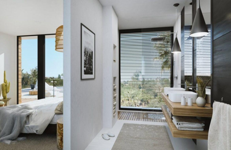 sanctuary villas el campanario golf new golden mile estepona costa del sol spanje villa kopen nieuwbouw badkamer
