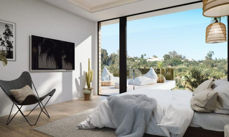 sanctuary villas el campanario golf new golden mile estepona costa del sol spanje villa kopen nieuwbouw slaapkamer