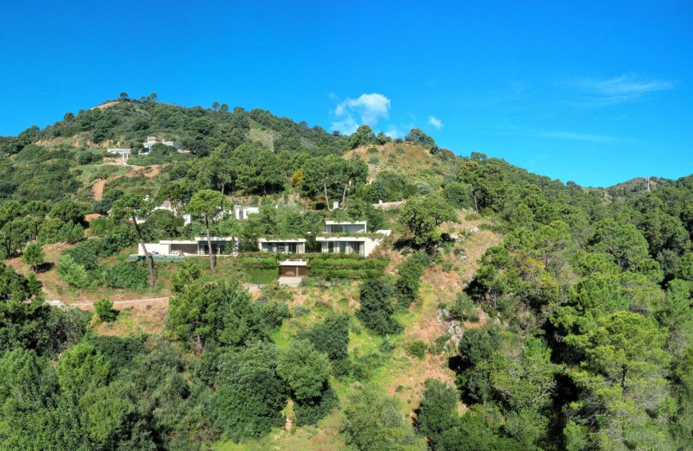 vitae villas exclusieve design nieuwbouw villa te koop rustige omgeving monte mayor benahavis costa del sol zeezicht modern