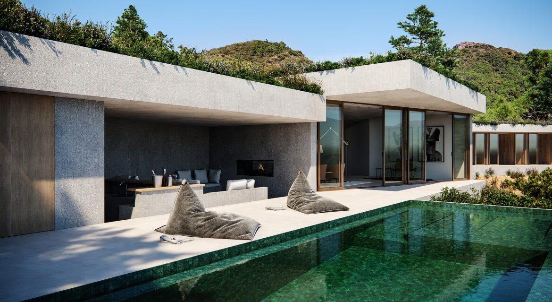 vitae villas exclusieve design nieuwbouw villa te koop rustige omgeving monte mayor benahavis costa del sol zeezicht modern chill