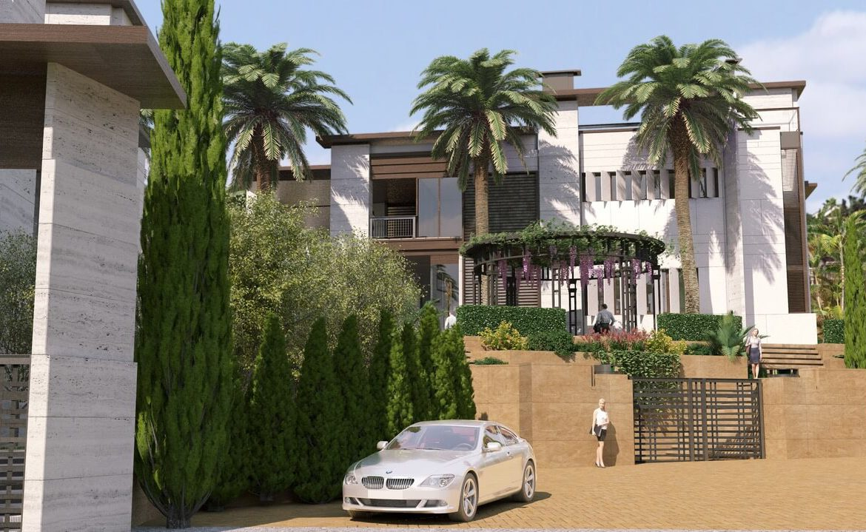 los palacetes de puerto banus marbella costa del sol spanje nieuwbouw villa kopen zeezicht beveiligd
