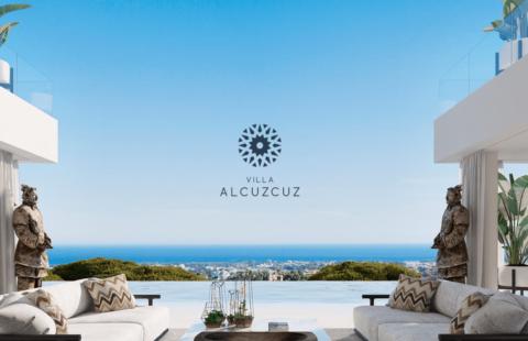 Villa Alcuzcuz: nieuwbouw avant-gardistische passiefhuis in Benahavis