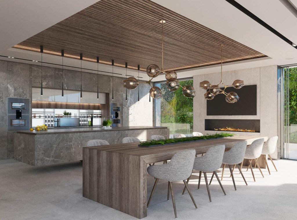 reserva de alcuzcuz benahavis marbella costa del sol spanje villa te koop passiefhuis nieuwbouw keuken