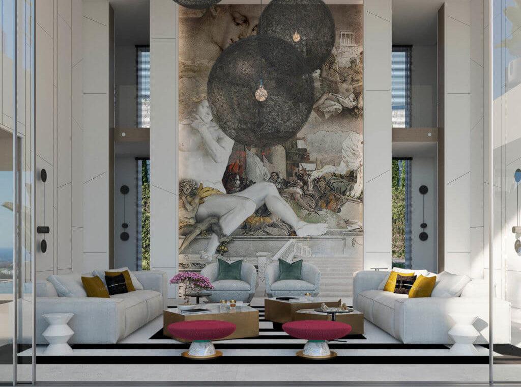reserva de alcuzcuz benahavis marbella costa del sol spanje villa te koop passiefhuis nieuwbouw sofa