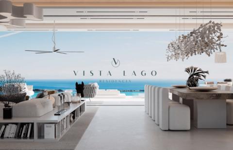 Vista Lago: 18 design villa's met uitzonderlijk zeezicht in Nueva Andalucia