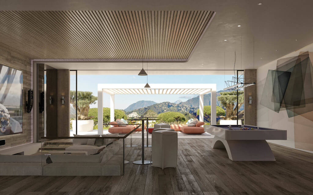 vista lago residences real la quinta nueva andalucia marbella costa del sol spanje villa kopen zeezicht kelder