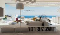 vista lago residences real la quinta nueva andalucia marbella costa del sol spanje villa kopen zeezicht living
