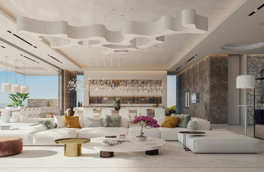 vista lago residences real la quinta nueva andalucia marbella costa del sol spanje villa kopen zeezicht salon