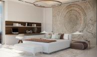 vista lago residences real la quinta nueva andalucia marbella costa del sol spanje villa kopen zeezicht slaapkamer