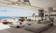 vista lago residences real la quinta nueva andalucia marbella costa del sol spanje villa kopen zeezicht sofa