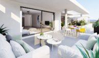 habitat golf valle romano estepona costa del sol spanje zeezicht nieuwbouw appartement penthouse kopen terras