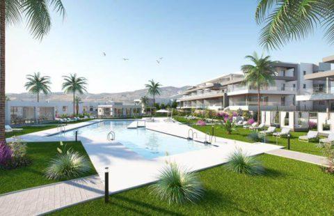 Habitat Valle Romano: appartementen vlakbij zee en golf in Estepona