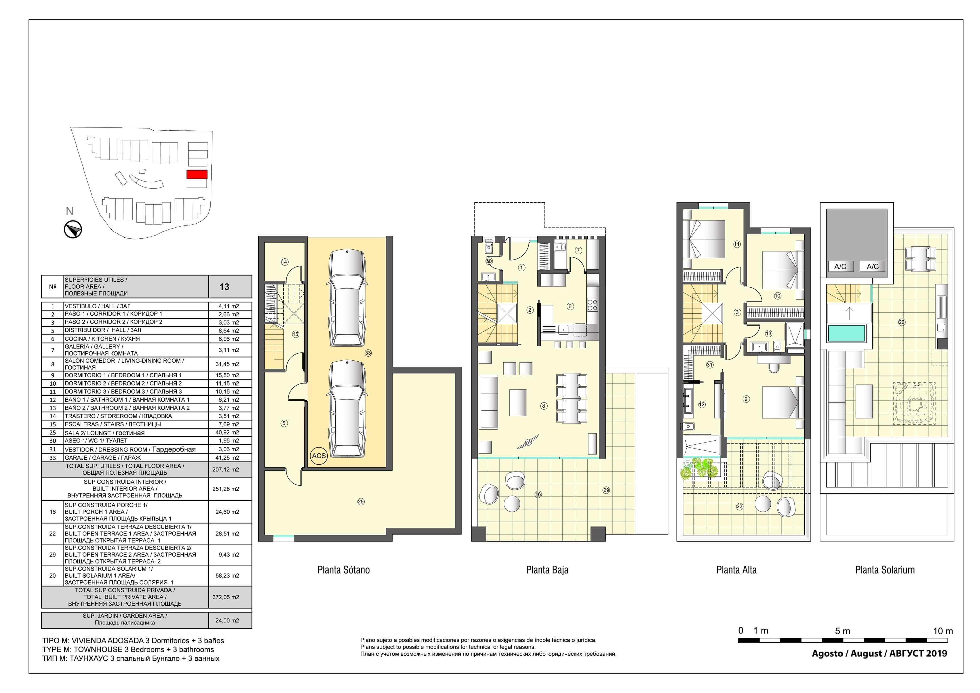 marbella senses golden mile marbella costa del sol nieuwbouw instapklaar huis te koop grondplan 13