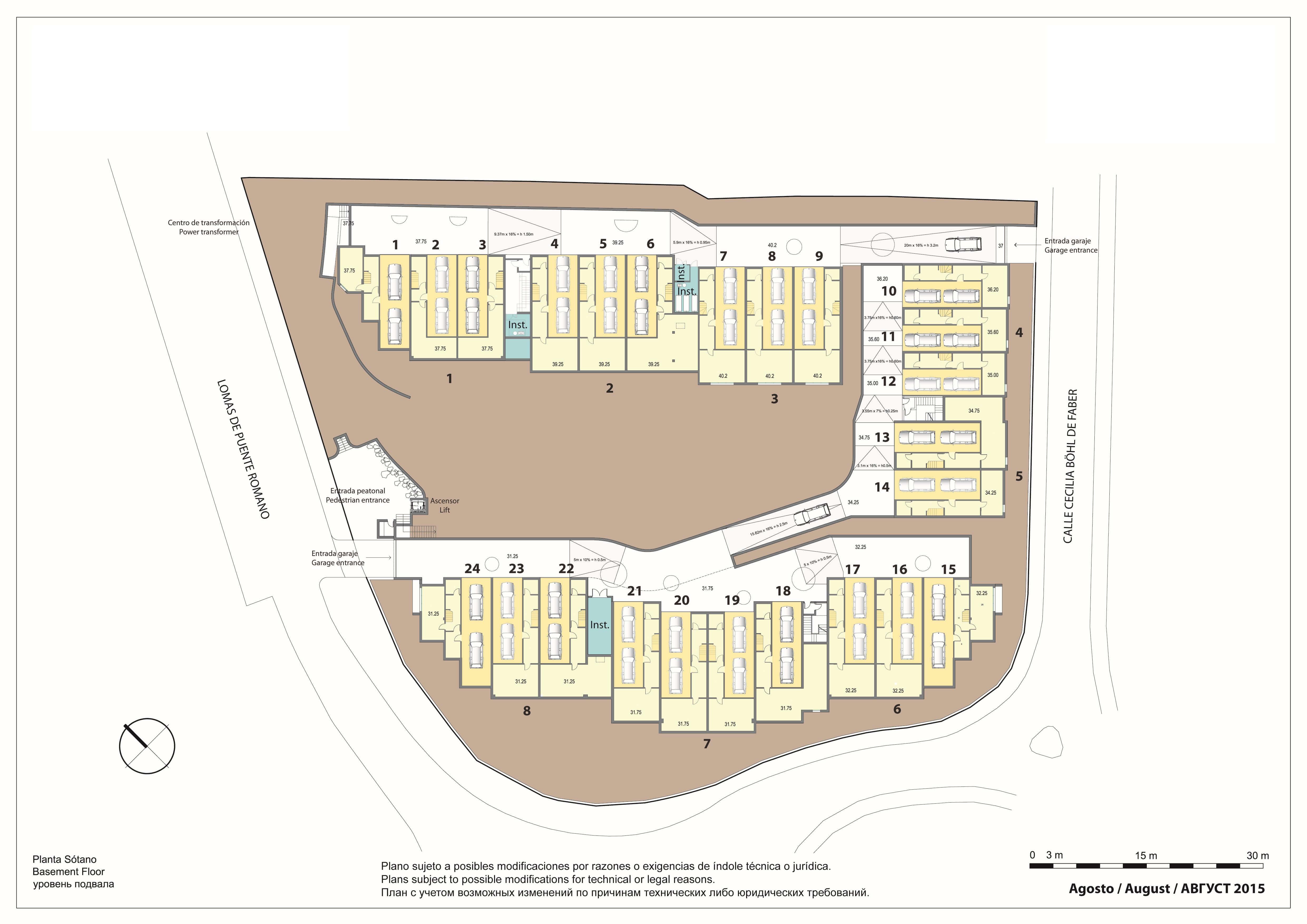 marbella senses golden mile marbella costa del sol nieuwbouw instapklaar huis te koop grondplan garage
