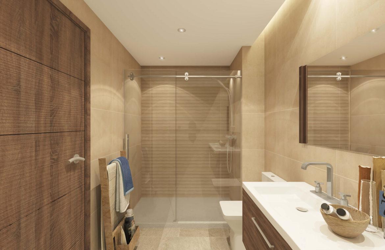 sun valley la cala golf resort mijas costa del sol spanje appartement kopen nieuwbouw badkamer