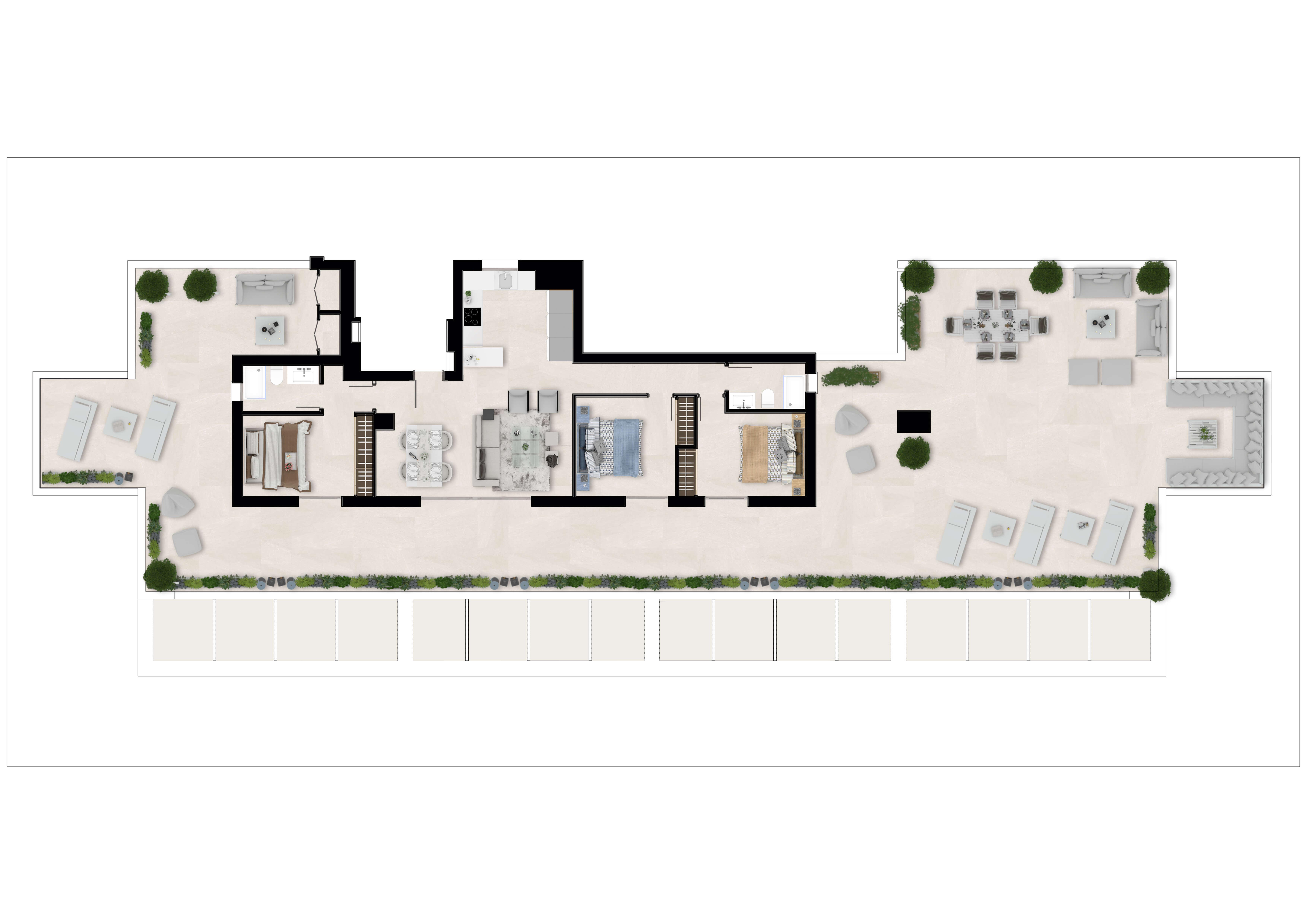 sun valley la cala golf resort mijas costa del sol spanje appartement kopen nieuwbouw penthouse