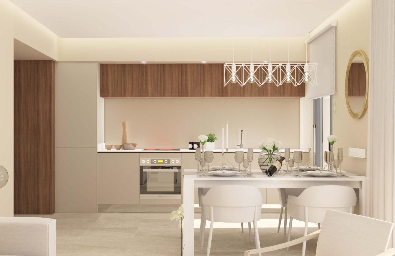 sun valley la cala golf resort mijas costa del sol spanje appartement kopen nieuwbouw keuken
