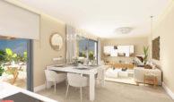 sun valley la cala golf resort mijas costa del sol spanje appartement kopen nieuwbouw living