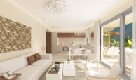 sun valley la cala golf resort mijas costa del sol spanje appartement kopen nieuwbouw salon