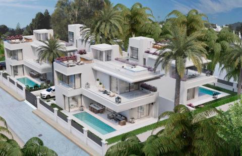 Villas Rio Verde: moderne villa's vlakbij Puerto Banus op de Golden Mile in Marbella