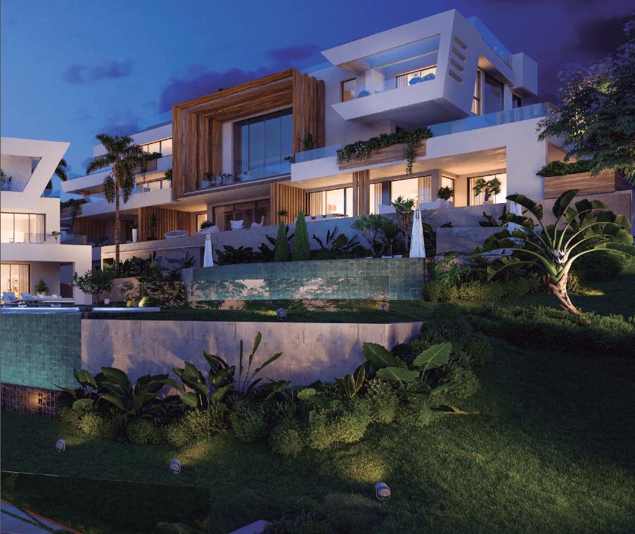 the cape sunset cabopino eerstelijns golf appartement kopen costa del sol zeezicht design