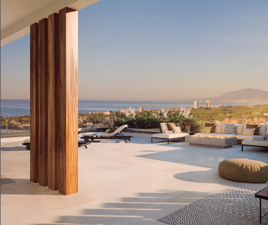 the cape sunset cabopino eerstelijns golf appartement kopen costa del sol zeezicht penthouse