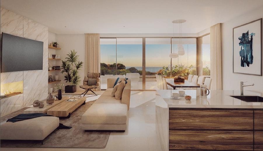 the cape sunset cabopino eerstelijns golf appartement kopen costa del sol zeezicht salon