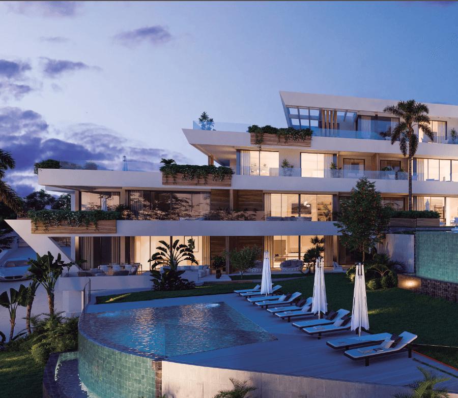 the cape sunset cabopino eerstelijns golf appartement kopen costa del sol zeezicht zwembad