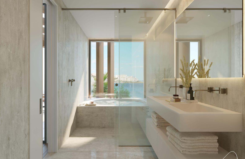 the sapphire estepona exclusief eerstelijns strand zeezicht appartement te koop costa del sol badkamer