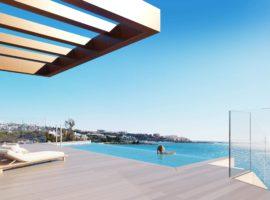 the sapphire estepona exclusief eerstelijns strand zeezicht appartement te koop costa del sol penthouse