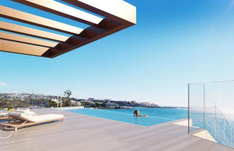 The Sapphire - exclusief eerstelijns zee penthouse in Estepona
