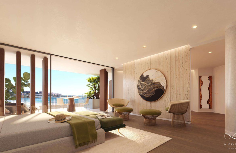 the sapphire estepona exclusief eerstelijns strand zeezicht appartement te koop costa del sol slaapkamer