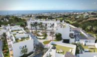 paraiso pueblo benahavis new golden mile marbella estepona vernieuwde appartementen te koop resort concierge zee golf dorp