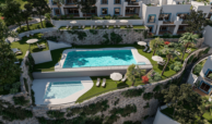 paraiso pueblo benahavis new golden mile marbella estepona vernieuwde appartementen te koop resort concierge zee golf infinity
