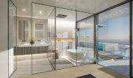 ikkil bay estepona costa del sol eerstelijns strand luxe appartement te koop zeezicht kleinschalig badkamer