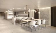 ikkil bay estepona costa del sol eerstelijns strand luxe appartement te koop zeezicht kleinschalig keuken