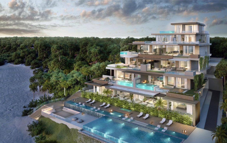 ikkil bay estepona costa del sol eerstelijns strand luxe appartement te koop zeezicht kleinschalig ligging