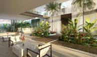 ikkil bay estepona costa del sol eerstelijns strand luxe appartement te koop zeezicht kleinschalig resort