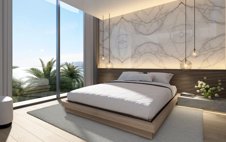 ikkil bay estepona costa del sol eerstelijns strand luxe appartement te koop zeezicht kleinschalig slaapkamer